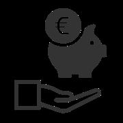 Bargeld und Kontoauszüge